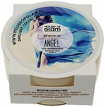Fragrances, Perfumes, Cosmetics Scented Candle - House of Glam Beware of Angel Candle (mini size)