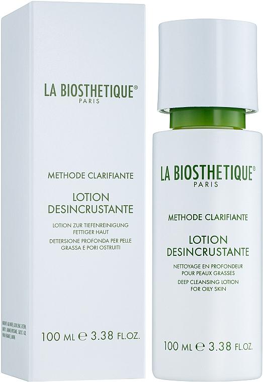 Deep Cleansing Lotion for Oily Skin - La Biosthetique Methode Clarifiante Lotion Désincrustante
