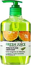 Fragrances, Perfumes, Cosmetics Body Gel Soap - Fresh Juice Green Tangerine & Palmarosa