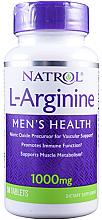 Fragrances, Perfumes, Cosmetics L-Arginine, 1000 mg - Natrol L-Arginine