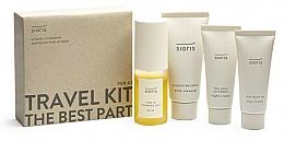 Fragrances, Perfumes, Cosmetics Set - Sioris Travel Kit (cleanser/30ml+mist/30ml+day/cr/15ml+night/cr/7ml)