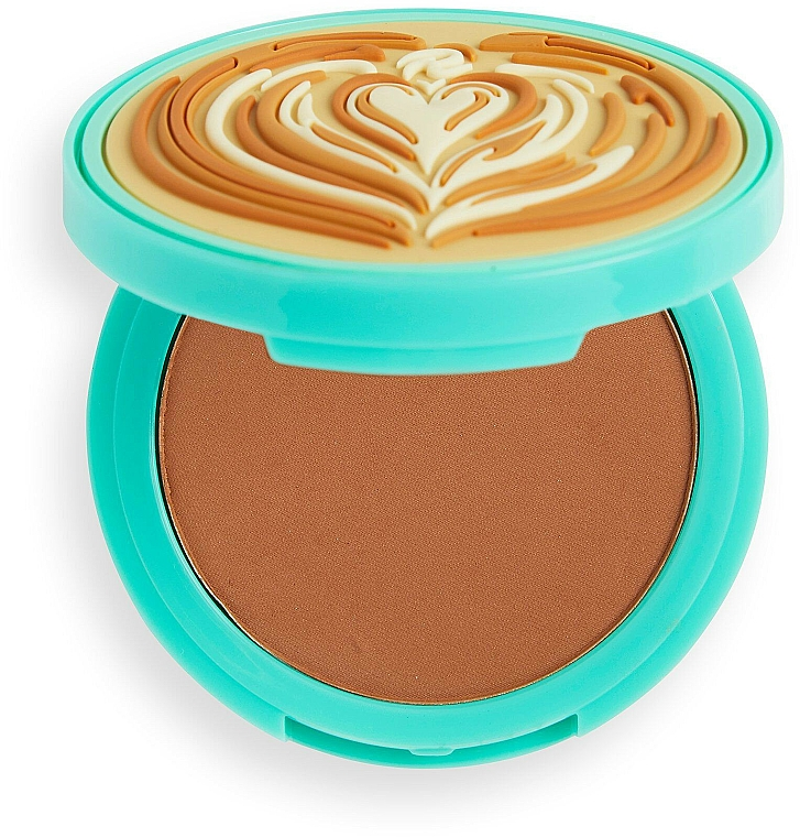 Face Bronzer - I Heart Revolution Tasty Coffee Bronzer