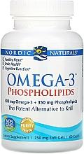 "Fragrances, Perfumes, Cosmetics Dietary Supplement ""Omega-3 Phospholipids"" - Nordic Naturals Omega-3 Phospholipids"
