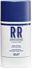 Fragrances, Perfumes, Cosmetics Face Wash Stick - Reuzel Refresh & Restore Clean & Fresh Solid Face Wash Stick