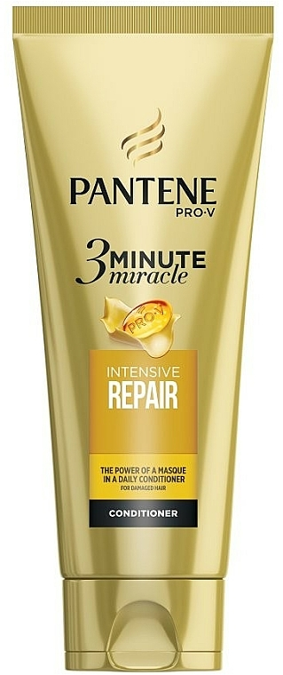 """Hair Concentrate """"Repair & Protection in 3-Minute"""" - Pantene Pro-V Three Minute Miracle Repair & Protect Conditioner"""