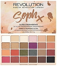 Fragrances, Perfumes, Cosmetics Eyeshadow Palette - Makeup Revolution Soph X Eyeshadow Palette