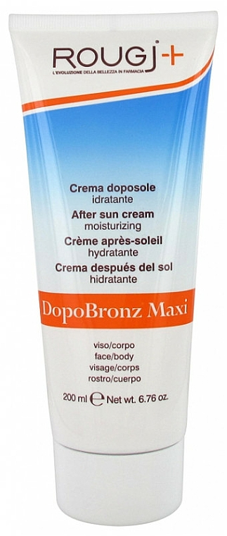 After Tanning Cream - Rougj + DopoBronz Maxi Cream — photo N1