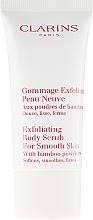 Fragrances, Perfumes, Cosmetics Body Scrub - Clarins Exfoliating Body Scrub For Smooth Skin With Bamboo Powders (mini size)