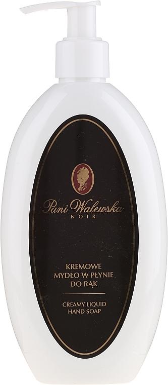 Liquid Cream Soap - Pani Walewska Noir