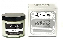 """Fragrances, Perfumes, Cosmetics Scented Candle """"Vanilla"""" - Eco Life Candles"""