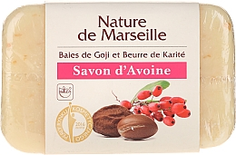Fragrances, Perfumes, Cosmetics Goji Berry & Shea Butter Oat Soap - Nature de Marseille Soap
