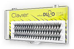 "Fragrances, Perfumes, Cosmetics False Lashes ""Double Volume"", 10mm - Clavier DU2O Double Volume"