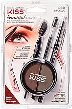Fragrances, Perfumes, Cosmetics Modeling Brow Kit - Kiss Beautiful Brow Kit