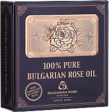 Fragrances, Perfumes, Cosmetics Natural Rose Oil in Wooden Box - Bulgarian Rose Oil