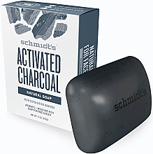 Fragrances, Perfumes, Cosmetics Natural Soap - Schmidt's Naturals Bar Soap Activated Charcoal