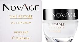 Fragrances, Perfumes, Cosmetics Rejuvenating Cream for Eye Contour and Lip - Oriflame NovAge Time Restore Eye & Lip Cream