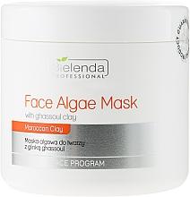 Fragrances, Perfumes, Cosmetics Alginate Face Mask with Ghassoul Clay - Bielenda Professional Algae Face Mask