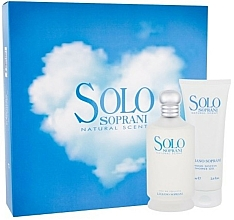 Fragrances, Perfumes, Cosmetics Luciano Soprani Solo Soprani - Set (edt/100ml + sh/gel/100ml)