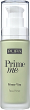 Fragrances, Perfumes, Cosmetics Corrrecting Face Primer - Pupa Prime Me Corrective Anti-Redness Face Primer