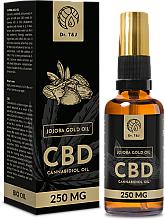 Fragrances, Perfumes, Cosmetics Natural Jojoba Oil CBD 250mg - Dr. T&J Bio Oil