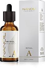 Fragrances, Perfumes, Cosmetics Retinol Regenerating Facial Serum - Nanoil Face Serum Retinol