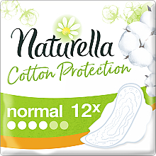 Fragrances, Perfumes, Cosmetics Sanitary Pads with Wings, 12pcs - Naturella Cotton Protection Ultra Normal