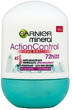 """Fragrances, Perfumes, Cosmetics Roll-On Deodorant """"Active Control"""" - Garnier Mineral Action Control Thermic 72h Deodorant"""