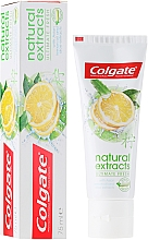 """Fragrances, Perfumes, Cosmetics Toothpaste """"Ultimate Fresh"""" - Colgate Natural Extracts Ultimate Fresh Lemon"""