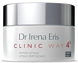 "Fragrances, Perfumes, Cosmetics Night Cream ""Peptide Lifting"" - Dr Irena Eris Clinic Way 4 Peptide Lifting"