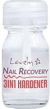 Fragrances, Perfumes, Cosmetics 3-in-1 Nail Hardener - Lovely Nail Recovery 3 in 1 Hardener
