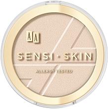 Fragrances, Perfumes, Cosmetics Face Powder - AA Sensi Skin Mattifing Powder