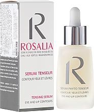 Fragrances, Perfumes, Cosmetics Firming Eye & Lip Contours Serum - Naturado Rosalia Serum Eye And Lip Contours