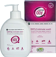 Fragrances, Perfumes, Cosmetics Intimate Cleanser with Lactic Acid and Herbal Extracts - Gentle Day