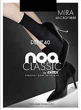 "Fragrances, Perfumes, Cosmetics Women Microfiber Socks ""Mira"" 40 Den, 2, black - Knittex"
