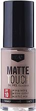 Fragrances, Perfumes, Cosmetics Mattifying Foundation - Hean Matte Touch Oil Free SPF10