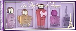 Fragrances, Perfumes, Cosmetics Charrier Parfums Parfums De France - Set (edp/5.2ml+edp/5.2ml+edp/5.2ml+edp/8ml+edp/4.9ml)