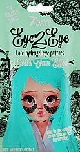 Fragrances, Perfumes, Cosmetics Lace Blueberry Hydrogel Eye Patches - 7 Days Eye2Eye Hydrogel Patches