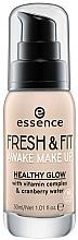 Fragrances, Perfumes, Cosmetics Foundation - Essence Fresh & Fit Awake Make Up
