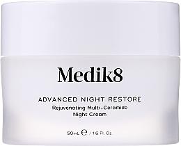 Fragrances, Perfumes, Cosmetics Rejuvenating Multi-Ceramide Night Cream - Medik8 Advanced Night Restore Rejuvenating Multi-Ceramide Night Cream