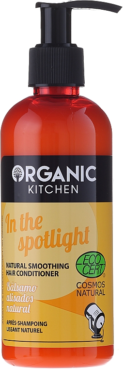 """Smoothing Natural Hair Conditioner """"In The Spotlight"""" - Organic Shop Organic Kitchen Conditioner"""