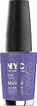 Fragrances, Perfumes, Cosmetics Nail Polish - NYC In A New York Color Minute Quick Dry Nail Polish