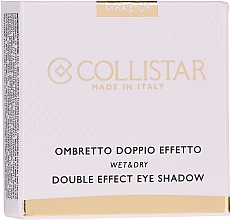 Fragrances, Perfumes, Cosmetics Eyeshadow - Collistar Double Effect Eye-Shadow Wet & Dry