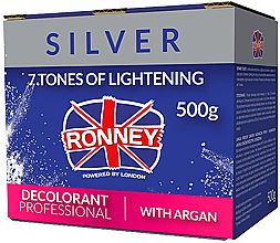 Fragrances, Perfumes, Cosmetics Lightening Argan Oil Hair Powder - Ronney Dust Free Bleaching Powder With Argan