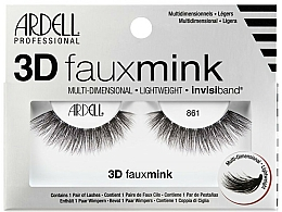 Fragrances, Perfumes, Cosmetics Flase Lashes - Ardell 3D Faux Mink 861