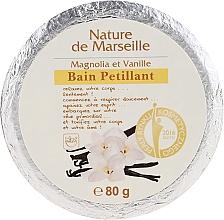 Fragrances, Perfumes, Cosmetics Bath Bomb with Magnolia & Vanilla Scent - Nature de Marseille Magnolias&Vanilla