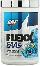"Fragrances, Perfumes, Cosmetics Dietary Supplement ""Blue Razz"" - GAT Sport Flexx EAAs + Hydration Blue Razz"