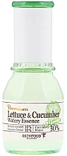 """Fragrances, Perfumes, Cosmetics Soothing Essence """"Lettuce and Cucumber"""" - SkinFood Premium Lettuce & Cucumber Watery Essence"""