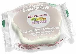 "Fragrances, Perfumes, Cosmetics Anti-Dandruff Solid Bio Shampoo ""White Clay"" - Ma Provence Shampoo"