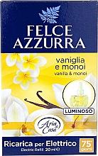 Fragrances, Perfumes, Cosmetics Electric Diffuser - Felce Azzurra Vanilla & Monoi Oil (refill)