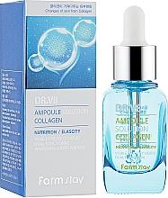 Fragrances, Perfumes, Cosmetics Collagen Ampoule Serum - FarmStay DR.V8 Ampoule Solution Collagen